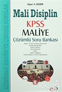 Mali Disiplin KPSS Maliye Çözümlü Soru Bankası