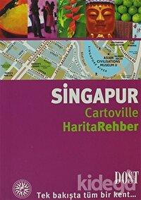 Singapur Cartoville Harita Rehber