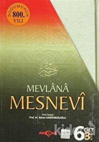 Mesnevi  Mevlana (3 Kitap Takım)