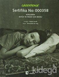 Greenpeace - Sertifika No: 000358