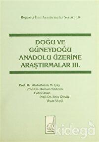Doğu ve Güneydoğu Anadolu Üzerine Araştırmalar 3