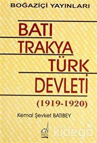 Batı Trakya Türk Devleti 1919-1920
