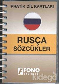 Pratik Dil Kartları - Rusça Sözcükler