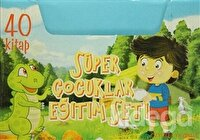 Süper Çocuklar Eğitim Seti (40 Kitap Takım)