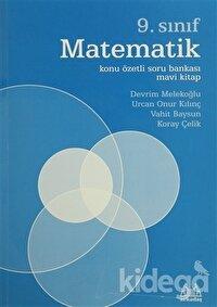 9. Sınıf Matematik Konu Özetli Soru Bankası Mavi Kitap