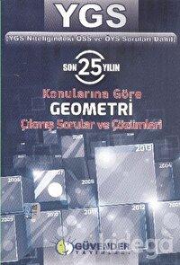YGS Son 25 Yılın Konularına Göre Geometri Çıkmış Sorular ve Çözümleri