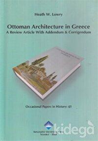 Ottoman Architecture in Greece
