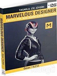Marvelous Designer - 3 Boyutlu Oyun Moda Tasarım ve Giysi Simülasyonu - Dvd Ekiyle