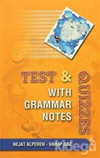Test & Quizzes - With Grammar Notes