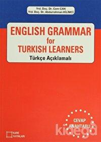 English Grammar for Turkish Learners Türkçe Açıklamalı