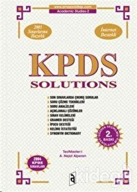 KPDS Solutions Answer Keys