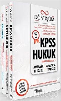 Dönüşüm KPSS Hukuk Seti (3 Kitap Takım)