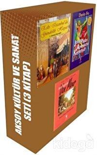 Aksoy Kültür ve Sanat Seti (3 Kitap Takım)