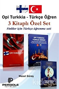 Opi Turkkia - Türkçe Öğren 3 Kitaplı Özel Set