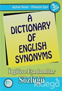 A Dictionary of English Synonyms / İngilizce Eşanlamlılar Sözlüğü
