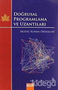 Doğrusal Programlama ve Uzantıları - Model Kurma Örnekleri