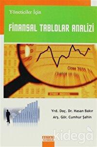 Yöneticiler İçin Finansal Tablolar Analizi