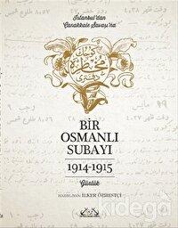 İstanbul'dan Çanakkale Savaşı'na Bir Osmanlı Subayı : 1914 - 1915