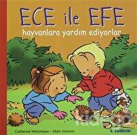 Ece ile Efe Hayvanlara Yardım Ediyorlar