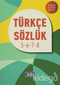 İlköğretim Türkçe Sözlük 5-6-7-8