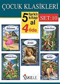 Çocuk Klasikleri (5 Kitap Takım) Set:10