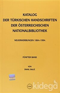 Katalog Der Türkischen Handschriften Der Österreichischen Nationalbibliothek