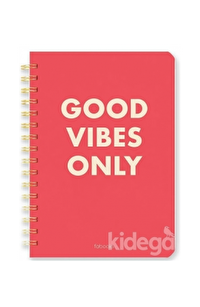 FAbooks Good Vibes Only Defter