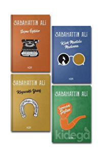 Sabahattin Ali Seti (4 Kitap Takım Kor Kitap)