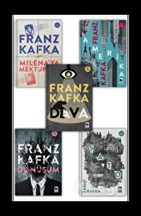 Milena'ya Mektuplar - Amerika - Dönüşüm - Şato - Dava Seti (5 Kitap Takım)