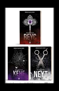 Asi Çakıltaşı Serisi 3 Kitap Takım (Kehf - Reyc - Neyt)