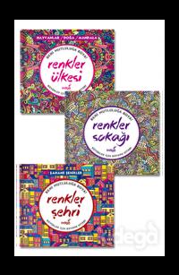 Renkler Mandala Seti (3 Kitap Takım)