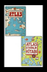 Atlas - Atlas Etkinlik Kitabı Seti (2 Kitap Takım)