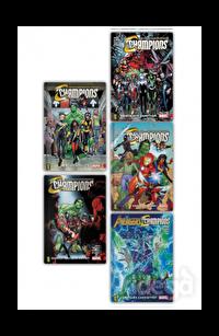 Marvel Champions Seti (5 Kitap Takım)
