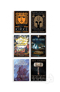 Mitoloji Seçkisi Seti (6 Kitap Takım)