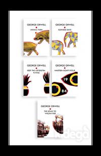 George Orwell Seti (5 Kitap Takım)