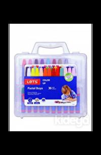 Lets 36 Renk Pastel Boya Plastik Çantalı