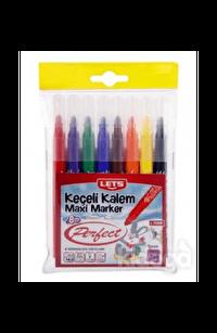 Lets Keçeli Boya Kalemi 8 Renk