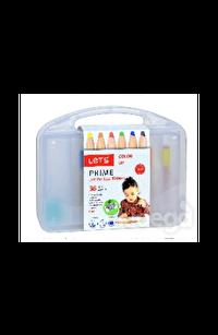Lets Prime 36'lı Jumbo Boya Kalemi Plastik Kutu