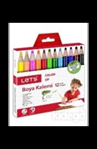 Lets 12 Renk Boya Kalemi Yarım Boy