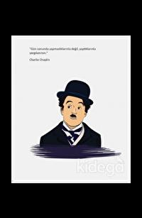 Salon Charlie Chaplin - Ciltli Defter