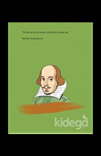 Salon William Shakespeare - Ciltli Defter