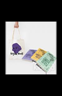Ham Bez Mor Desenli Çanta Hediyeli - Virginia Woolf Seti - 3 Kitap Takım