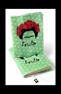 Kitap Kılıfı - Frida Portre