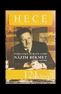 Hece Aylık Edebiyat Dergisi  Nazım Hikmet Özel Sayısı  Sayı: 13 - 121 (Ciltsiz)