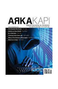 Arka Kapı Dergisi Sayı: 8