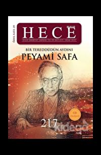 Hece Aylık Edebiyat Dergisi Peyami Safa Özel Sayısı Sayı: 29 / 217 (Ciltsiz)