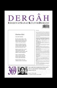 Dergah Edebiyat Kültür Sanat Dergisi Sayı: 369 Kasım 2020
