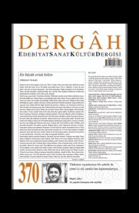 Dergah Edebiyat Kültür Sanat Dergisi Sayı: 370 Aralık 2020