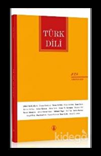 Türk Dili Dergisi Sayı: 824 Ağustos 2020