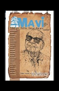 Mavi Edebiyat Kültür Sanat Dergisi Sayı: 3 Ağustos-Eylül